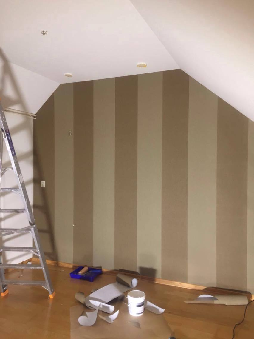 Arte wallpaper grande stripe past en present roermond - Stijlvol behang ontwerpen ...