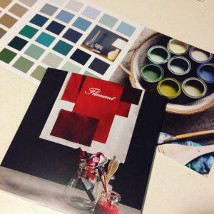 Nieuwe kleuren flamant past en present roermond - Kleurkaart kleur interieur verf ...